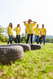 Fitness Workshop für Teamentwicklung