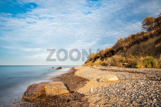 Steine an der Ostseeküste bei Elmenhorst