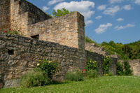 View from the german ruin Kugelsburg