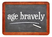 age bravely - reminder on blackboard