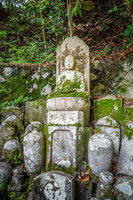 Chion-in temple garden graveyard, Kyoto, Japan