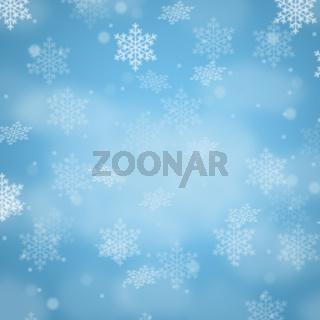 Weihnachten Hintergrund Schnee Karte Weihnachtskarte Dekoration Schneeflocke Quadrat Textfreiraum Copyspace