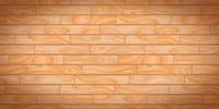 Beige realistic wooden boards with texture