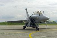 Mehrzweckkampfflugzeug Dassault Rafale B 4-FU SPA 81 der französischen Luftwaffe