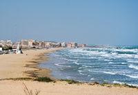 La Mata beach, south of Spain