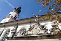 barocke evangelische Stadtkirche St. Marien