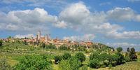 San Gimignano in der Toskana,Italien
