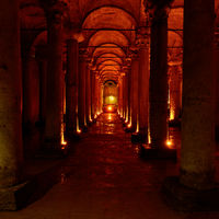 Columns of The Basilica Cistern