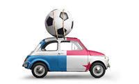 Panama football car