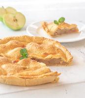 Wedge of apple pie