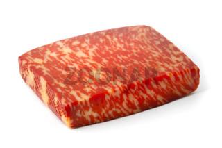 Red pesto gouda cheese