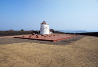 India. Goa. Aguada fort.