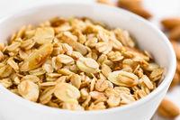Oatmeal, Almond and Honey Granola