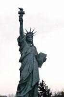 Kopie der Liberty Statue in Colmar