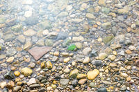 water pebbles background