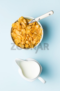 Breakfast cereals or cornflakes.