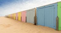Umkleiden am Strand