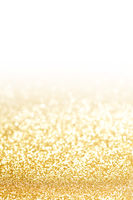 Glitters on white background