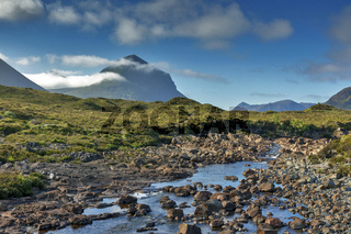 Black Cullin Mountains, Isle of Skye, Schottland