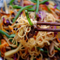 Fry noodles mixed vegetables