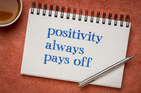 positivity always pays off