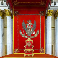 Large Throne Room, The Hermitage St. Petersburg Russia