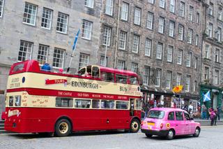 Stadtleben in Edinburgh