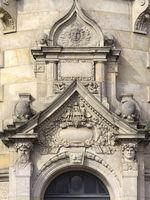 Hannover - Neues Rathaus, Seitenportal, Deutschland