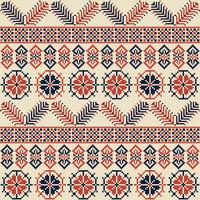Palestinian embroidery pattern 23
