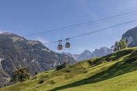 Luftseilbahn Dallenwil - Wirzweli, Nidwalden, Schweiz, Europa