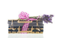 Suitcase with Lavender