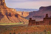 Canyon of Colorado River above Moab