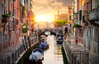 Motorboats in Italy