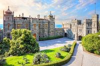 Vorontsov Palace, a famous landmark in  Crimea