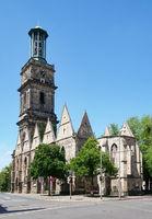 Aegidienkirche in Hanover Germany roofless church war memorial