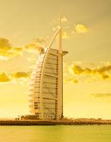 Tall house on sea coast