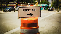 Street Sign First Aid