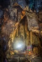 Inside of Batu caves. Malaysia