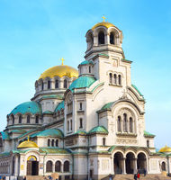 Alexander Nevsky Cathedral. Sofia, Bulgaria