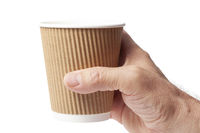 Cup of Coffee in a Hand