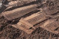Struktur im Sand