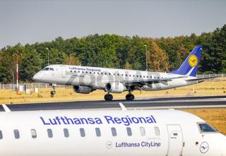 Flugzeuge der Lufthansa CityLine