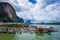 Koh Panyi fishing village, Phang Nga Bay, Thailand