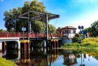 kleine Zugbrücke