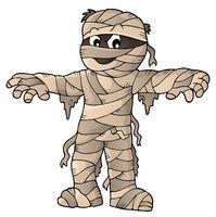 Mummy theme image 1