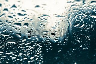 Water Drop Rain Background