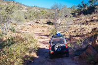 4WD in Outback Australia