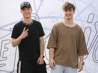 Die Lochis bei ihrer Selfie-Tour am 03.09.2018 in Magdeburg
