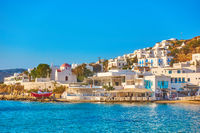 Waterfront in Mykonos
