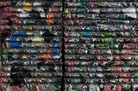 Gepresste Dosen Recycling